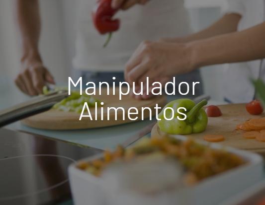 Manipulador Alimentos | Depordiet