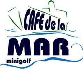 Logo Café De La Mar Minigolf